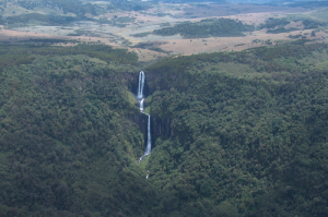 Karuru Falls in Aberdare National Park