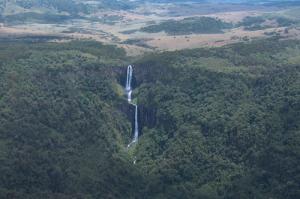 Karuru Falls in Aberdare National Park