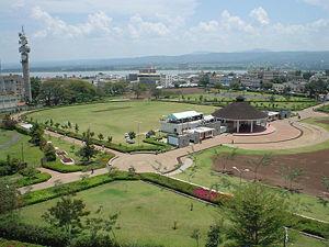 Udsigt over Kisumu