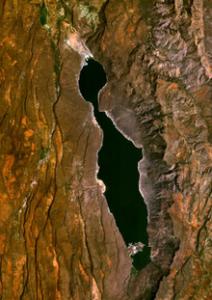 Lake Bogoria luftfoto