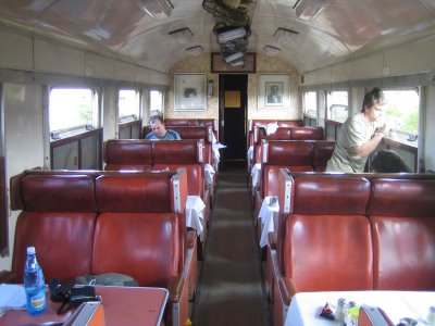 kenya train restaurant
