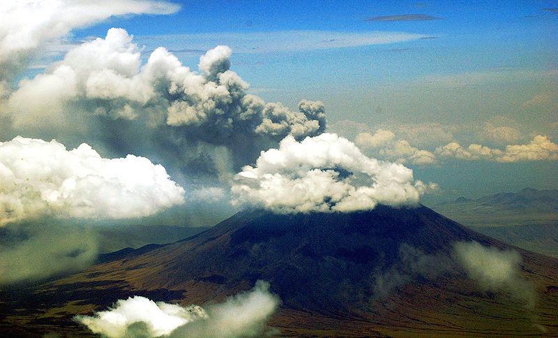 Ol Doinyo Lengai i udbrud